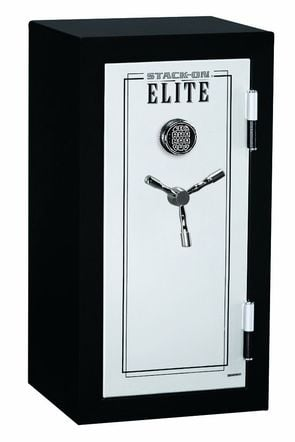 Stack-On E-040-SB-E Elite Junior Executive gun safe.